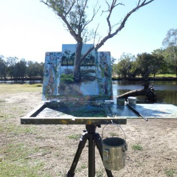 Plein Air Painting project – new website up!!