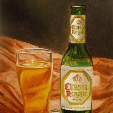 99 paintings of bottles of beer – Beer 13: Classe Royale
