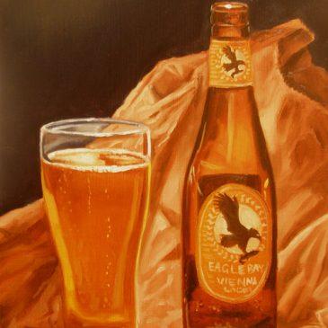 99 paintings of bottles of beer – Beer 14: Eagle Bay Vienna Lager