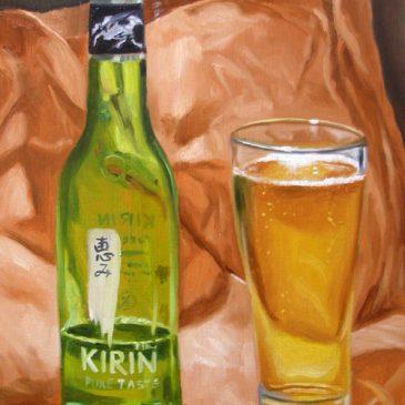 99 paintings of bottles of beer – Beer 15: Kirin