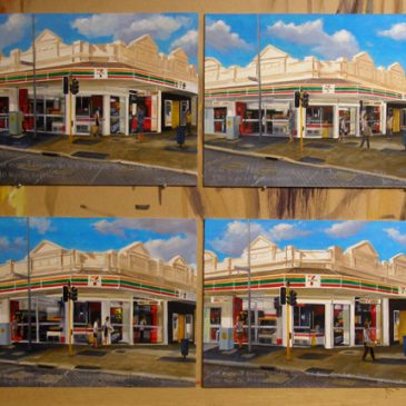 7 Eleven paintings