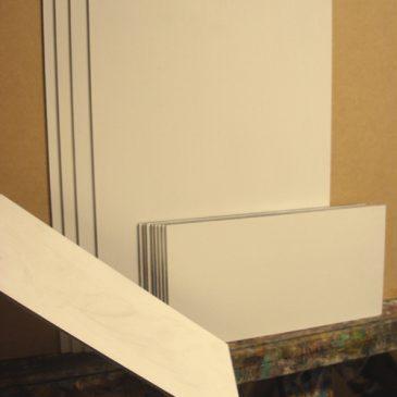 Painting panel preparation