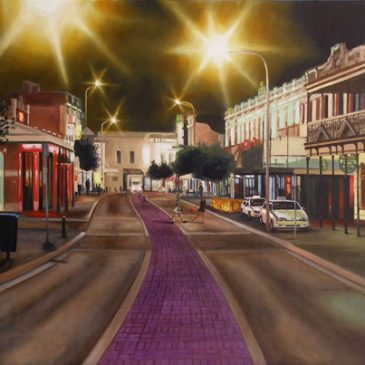 Fremantle night scene