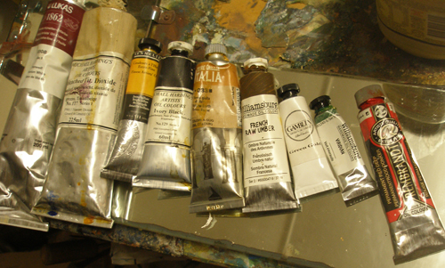 a photo of Oils for painting