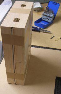Pochade box construction