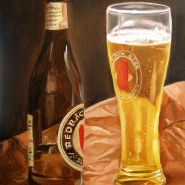 99 paintings of bottles of beer – Beer 5: Redback