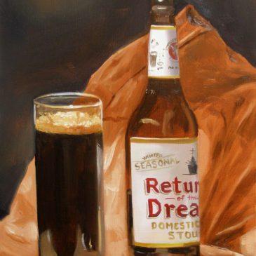 99 paintings of bottles of beer – Beer 12: Return of the Dread