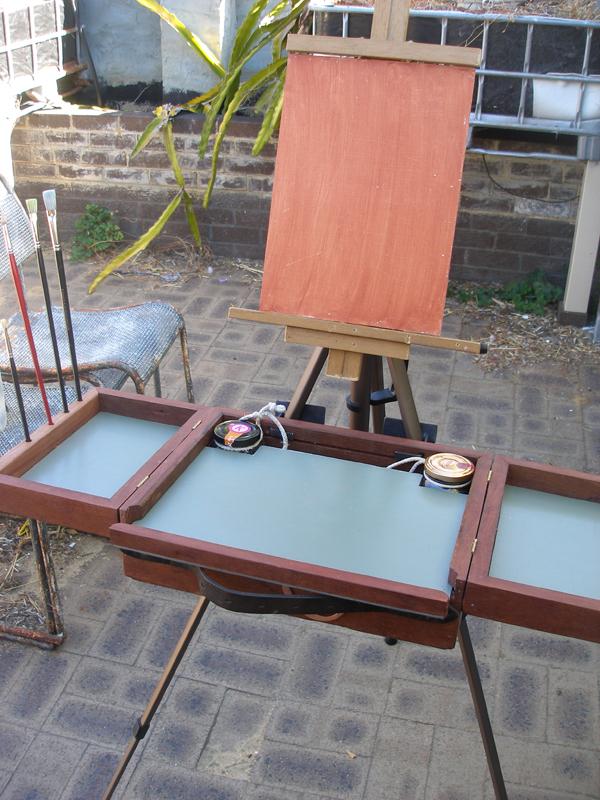 pochade box construction 14