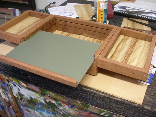 pochade box construction 6