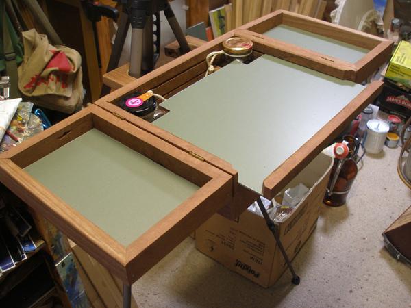 pochade box construction 7