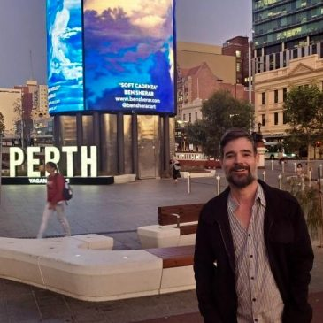 Yagan Square Digital Tower Display