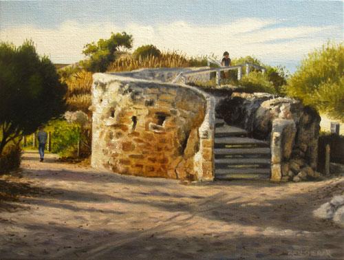 An original painting by Ben Sherar